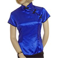 Satin-Style Oriental Tunic