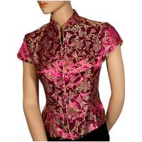 Brocade-Style Oriental Tunic