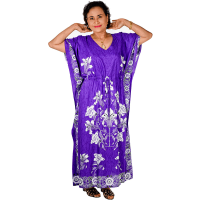 Rayon Kaftan Dress