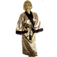 Satin-Silk Kimono