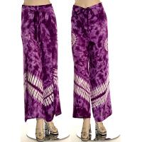 Tie-Dye Wrap Trouser