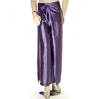 Satin Wrap-Trouser