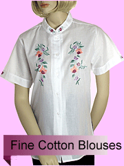 Fine Qualty Cotton Blouses